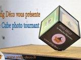 Cube photo tournant disponible sur www.ping-deco.fr