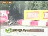 Accident choc lors d'une course de camion - Video2choc