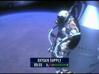 Felix Baumgartner Red Bull Stratos Live Jump (Replay)