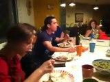 ארוחת חג אצל משפחת רייס