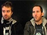 Simple Plan 2008 interview - Sebastien Lefebvre and Chuck Comeau (part 2)