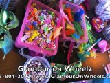 Glamour on Wheels Girls Birthday Party Rental Ideas Thousand Oaks CA 805-804-3092