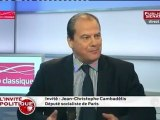 Jean-Christophe Cambadélis : « Il est provincial, il n'est pas énarque, il ne fait pas partie des dîners en ville, il ne copine pas avec les grands journaux. »