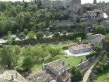 Ardèche : Vidéo aérienne de Balazuc en Ardèche méridionale