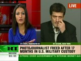Reuters journalist freed from US custody