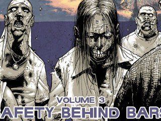 CGR Comics - THE WALKING DEAD VOL. 3: SAFETY BEHIND BARS comic review