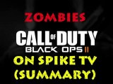 Black Ops 2 Zombies Theatre Mode Presented on Spike TV