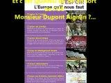 """""""Un Dupont peut en cacher un autre""""_Nicolas Dupont Aignan au Forum dmocratique du 8 Octobre 2012  Paris"""