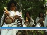 Des indiens de Colombie en conférence (Montpellier)