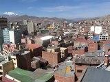 BOLIVIE: Première vidéo de LA PAZ (qui n'est pas capitale de la Bolivie)