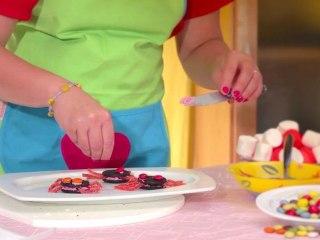 Recetas fiestas infantiles: arañas de chocolate
