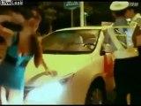 Sarhoş japon kız polisi çıldırttı!  (Japanese girl drunk cop crazy!)