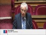 Michel Bécot, Sénateur des Deux-Sèvres : Devenir du projet d'investissement porté par le centre hospitalier nord Deux-Sèvres
