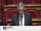 Alain Fouché, Sénateur de la Vienne : accessibilité à la ressource bancaire pour les collectivités territoriales