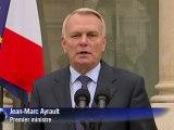 "Corse: la situation est ""insupportable"", selon Ayrault"