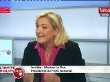 Marine Le Pen : « Est-ce que Monsieur Fillon, Monsieur Copé, Monsieur Hollande peuvent dire la vérité aux Français ? »