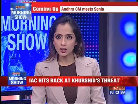 IAC hits back at Khurshid's threat