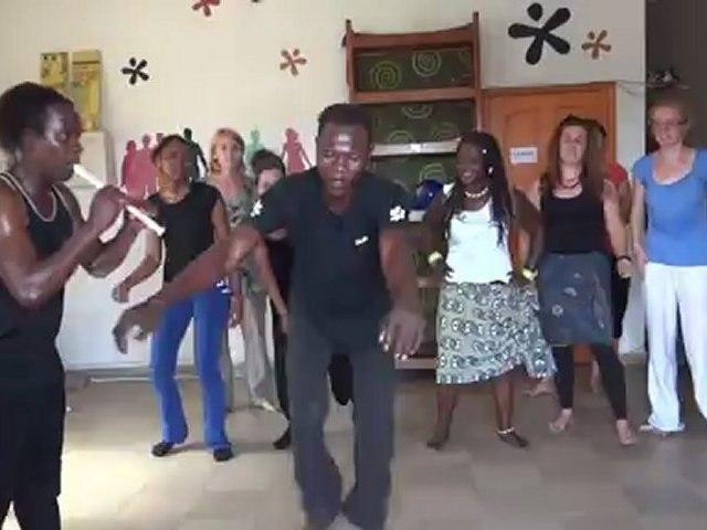 Espace Volontariats Bénin - Stage de danse africaine - Septembre 2012