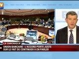 Union bancaire, un pas de plus vers l'Europe fédérale