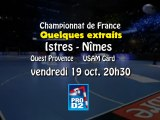 Istres Ouest Provence contre USAM Nimes Gard