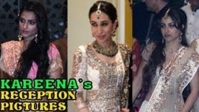 Saif Ali Khan & Kareena Kapoor's GRAND WEDDING RECEPTION PICTURES ( NEWS )