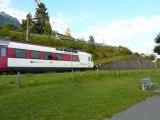Les Trains du lac Léman - Le Bouveret / Port Valais - Suisse - Août 2011