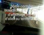 PARCOURS DES TAXIS POUR SE RENDRE AUX TERMINAUX 2A/2B DEPUIS LA BASE ARRIERE A ROISSY CDG