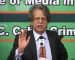 ATTN- MIR Justice Azmat Saeed Speech at Avari Role of media promoting peace part 0
