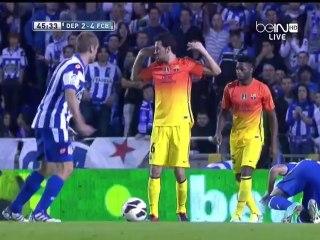 Обзор матча · Депортиво (Ла-Корунья) - Барселона (Барселона) - 4:5