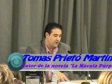 """Presentación  de la novela  """"La Mácula Púrpura""""  Barbera del Valles y Sant Cugat del Valles 1 y 2 octubre 2010"""