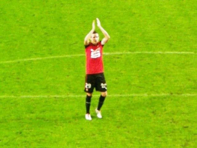20/10/12 : Romain Danzé salue le KOP : Rennes - Montpellier (2-1)
