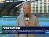 Reportage France 3 Poitou-Charentes interview de Patrice HAGELAUER DTN Tennis