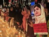Candle vigil held in Lahore for girl shot by Pro-Taliban militants