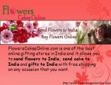 Send flowers to India, send cake to India and buy flowers and cake, teddy, chocolates online