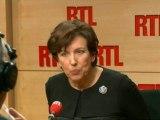 """Roselyne Bachelot, ancienne ministre de la Santé, invitée de """"RTL Midi"""""""