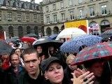 Gérard CHAROLLOIS  à Paris le 20 Octobre 2012 Manif Contre la Corrida