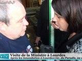 Lourdes Bilan des inondations (22 octobre 2012)
