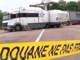 Des camions passés au rayon X par les douanes (Aube)
