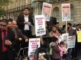 Demonstration Against MQM 10-DOWNING STREET LONDON 30/09/12. SARDAR UZAIR JAN SPEECH.