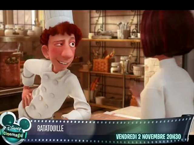 Disney Cinemagic - Ratatouille - Vendredi 2 Novembre à 20h30