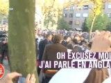 Jean-Claude Van Damme parle en anglais... à des Belges !