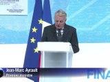 Jean-Marc Ayrault plaide pour la compétitivité des entreprises françaises