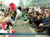 A La Défense, 700 personnes coontre le mariage homosexuel
