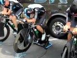 La Sky ProCycling à l'entraînement sur le Giro
