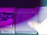 CARTE-DE-MAGIE--Bee-Red1--Poker-Card-Trick