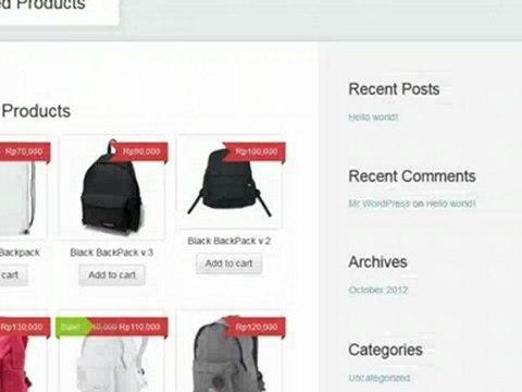 Membuat Toko Online Gratis #5: Cara Menambahkan Cart (Keranjang Belanja)
