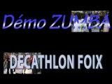 DEMO ZUMBA en ARIEGE - chez DECATHLON 2012