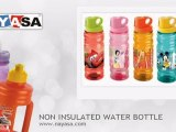 Non Insulated Water Bottles for Kids, Plastic Water Bottles by Nayasa Housewares