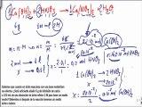 Quimica 1º bachillerato reacciones quimicas ejercicio 10
