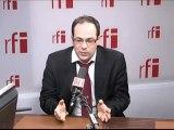 Emmanuel Maurel, vice-président du Conseil régional d'Île-de-France, secrétaire national du Parti socialiste, représentant de l'aile gauche du PS
